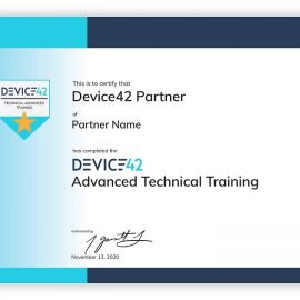 Device42 Partner Portal Training